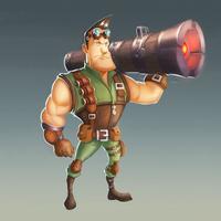 火箭炮大作战-飞弹英雄的地球守卫战