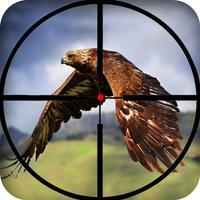 Boscage bird hunting: Wildlife sniper shooter