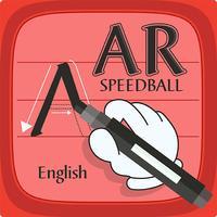 AR Speedball English RH