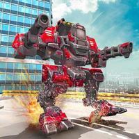 Robots Shooting Battle