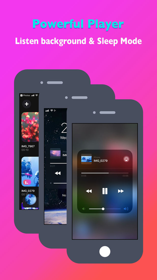 Offline Cloud MP3 Music Player App for iPhone - Free Download