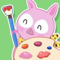儿童画画游戏-幼儿早教软件