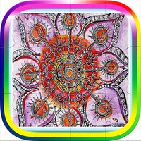 Mandala Puzzle Book Game For Adults
