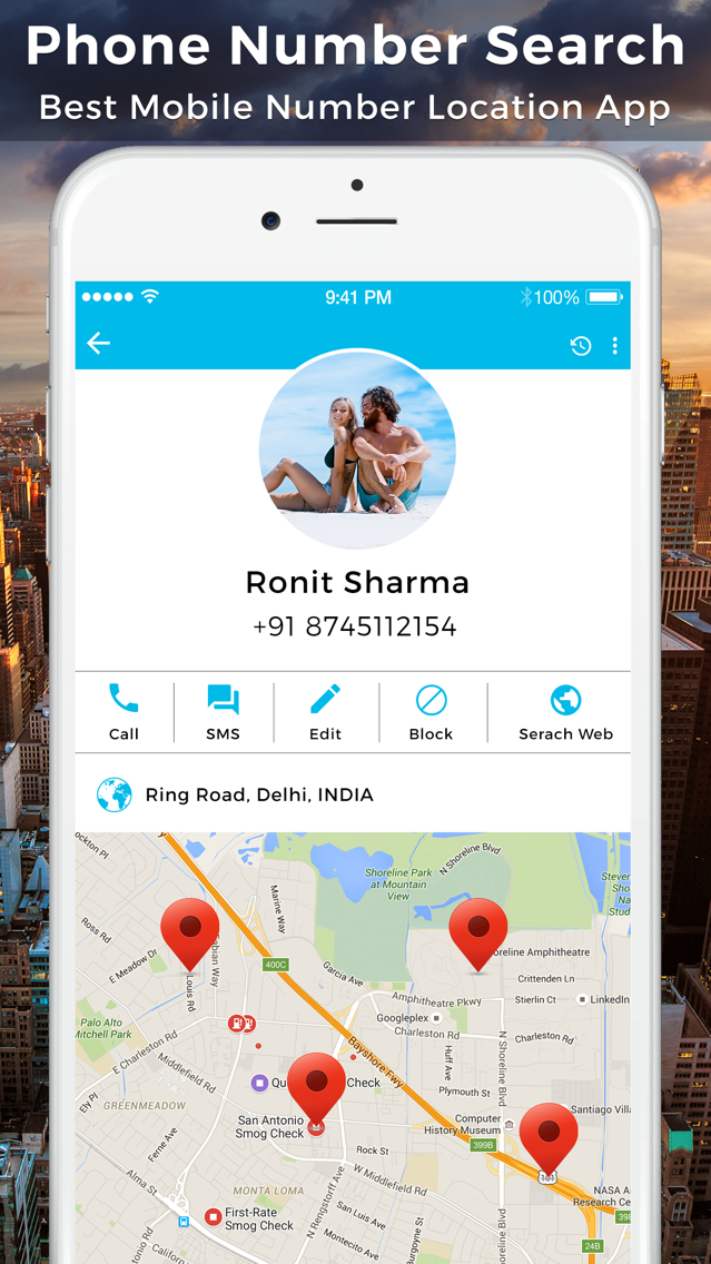 Phone Number Search & Location App for iPhone - Free Download Phone