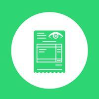 Optical Invoice Bill