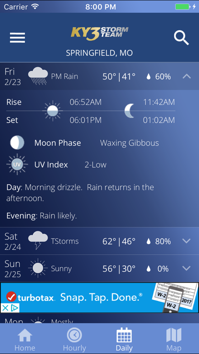 KY3 Weather App for iPhone - Free Download KY3 Weather for