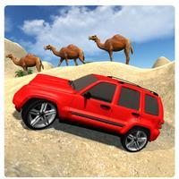 Desert Driving: Offroad Luxury Prado 3D