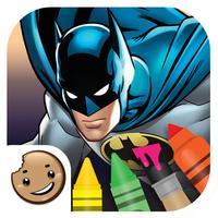 Painting Lulu Batman Coloring App
