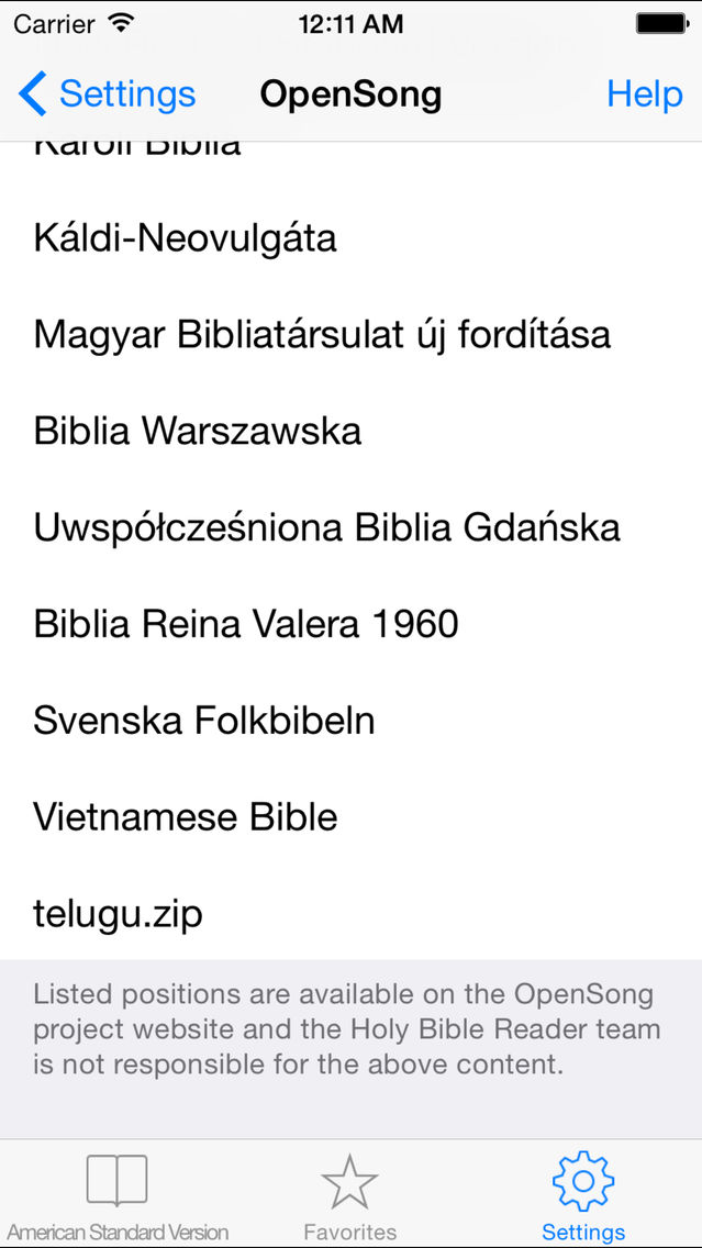 Holy Bible Reader App for iPhone - Free Download Holy Bible