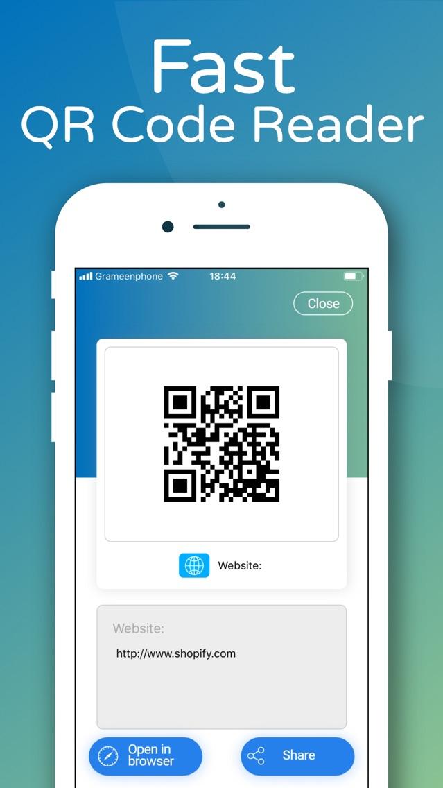 QR Code Reader    App for iPhone - Free Download QR Code