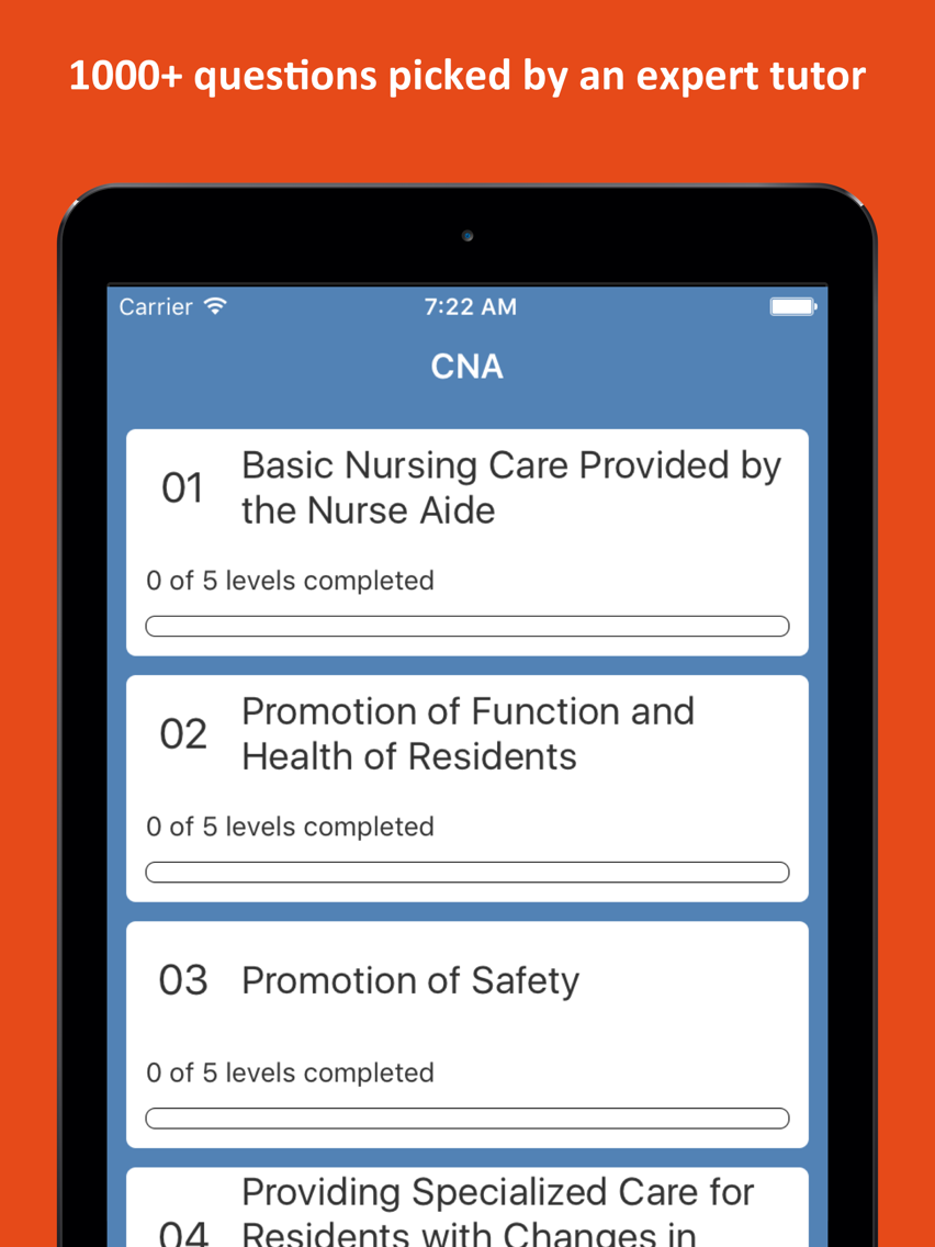 CNA Practice Test 2019 Edition App for iPhone - Free