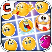 Emoji Crush Match Game - Emoji Crush - A match 3 puzzle game for Christmas holiday season!