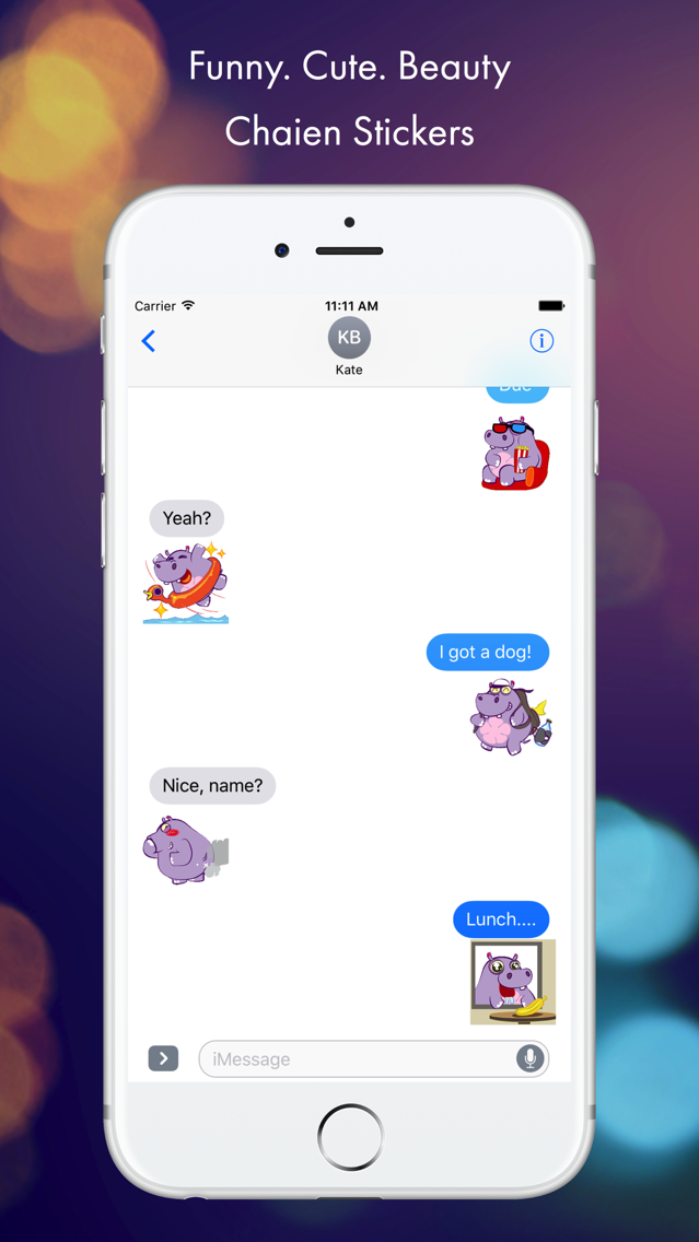 Chaien GIF Stickers App for iPhone - Free Download Chaien
