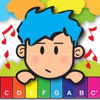 Piano School - Touch Music Sheet, Baby Piano, Drum