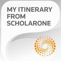 ScholarOne My Itinerary