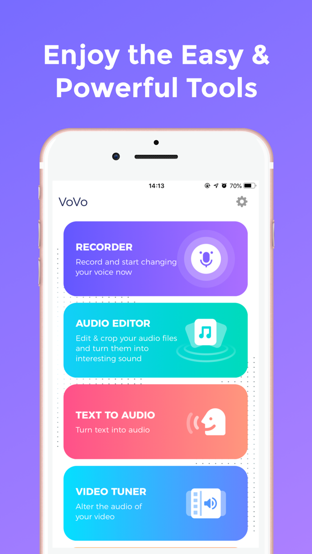 Vovo - Celebrity Voice Changer App for iPhone - Free