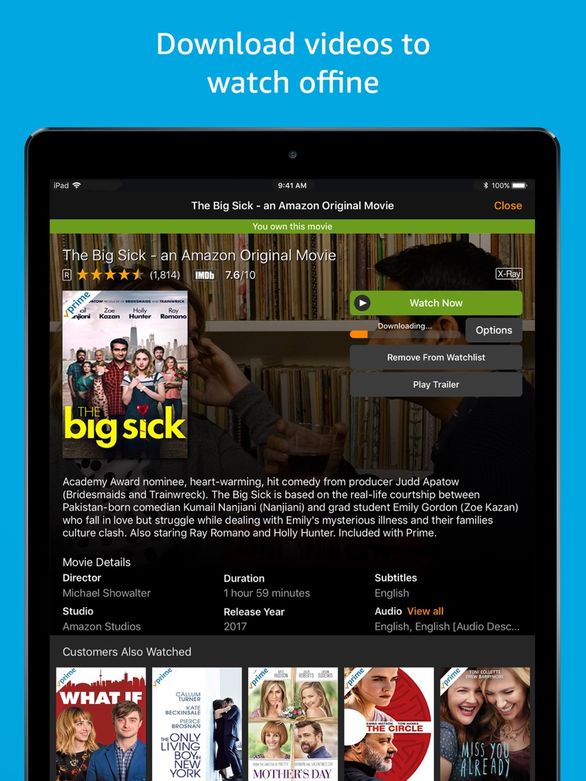 Amazon Prime Video App For IPhone
