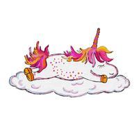 Hand Drawn Unicorns Sticker Pack