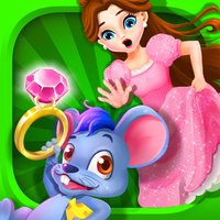 Princess Run! Treasure Hunt! - Diamond Ring Rescue Game