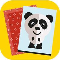 记忆游戏 - 发现卡背后的动物