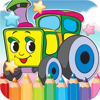 Car Drawing Coloring Book - Cute Caricature Art Ideas pages for kids