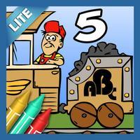 Coloring Book 5 Lite: Alphabet