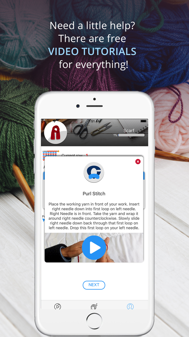 Knitting Genius - Knit Easy! App for iPhone - Free Download Knitting