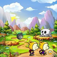 Down Hill : Jumping Game