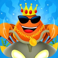 A Hermit Crab - Sea thug of the ocean gang for boys girls and kids Free