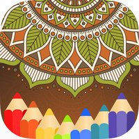 Mandala Coloring Books Color Therapy for Adults