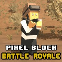 Pixel Block Battle Royale
