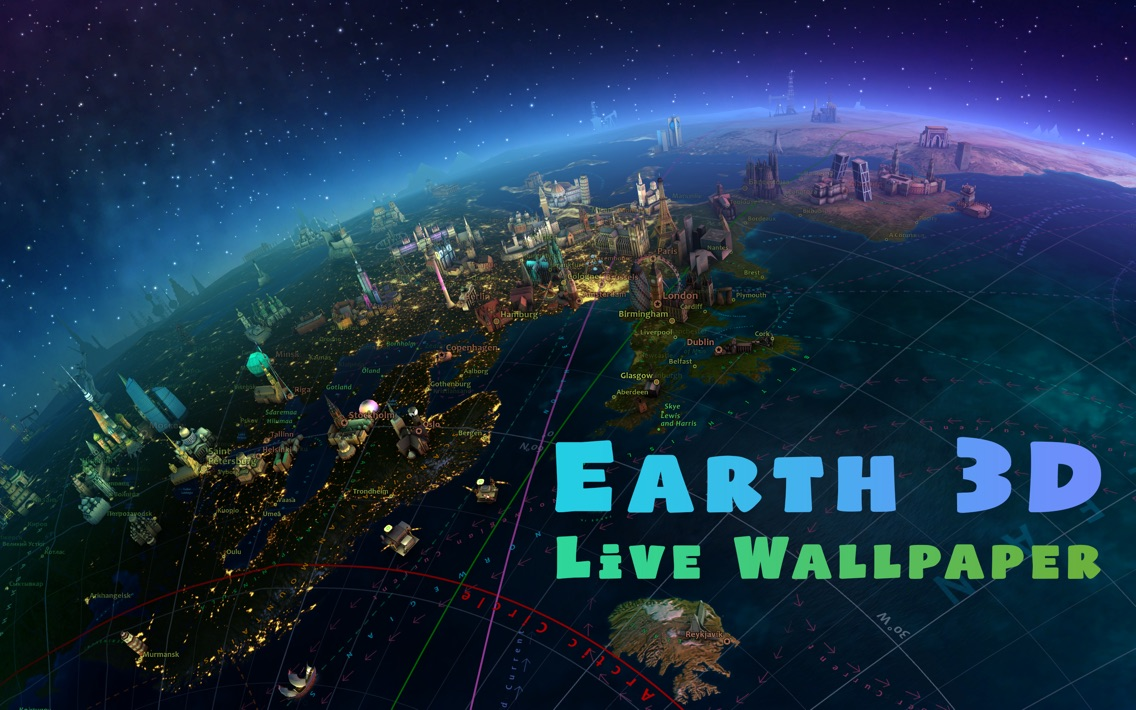 Earth 3D App for iPhone - Free Download Earth 3D for iPhone