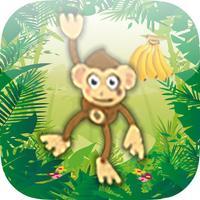 Dschungel Affen Wippe - Hol Dir Die Bananen