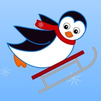 Polar Penguin Sled Racing