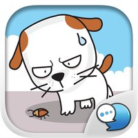 Cute Khao Niaw dogs Stickers for iMessage