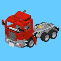 Red Truck for LEGO Creator 7347 Set - Building Instructions