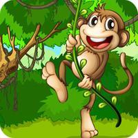 Monkey Jump In Banana Jungle