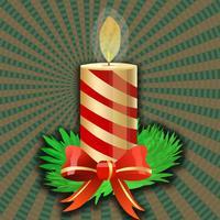 Free Christmas Music Candle