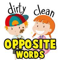 Opposite Words Or Antonyms For Kids