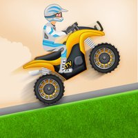 Uphill Climb 4x4 Kids Rally -  Acceleration on MX Hilly Terrain