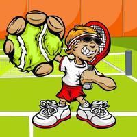 Pocket Tennis Match