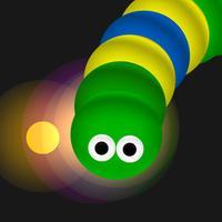 Snake Running Games - Hungry Battle Worm Eat Color Dot Skins