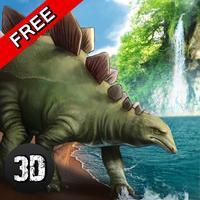 Jurassic Dino Stegosaurus Simulator 3D