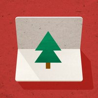 Pine 3D Greeting Cards