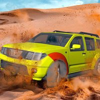 Racing Champion In Desert
