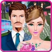 Pool Wedding Salon Makeover & Dress up Salon Girls Game