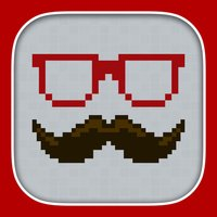 InstaPix Photo Editor - 8 Bit Pixel Stickers for your Pictures
