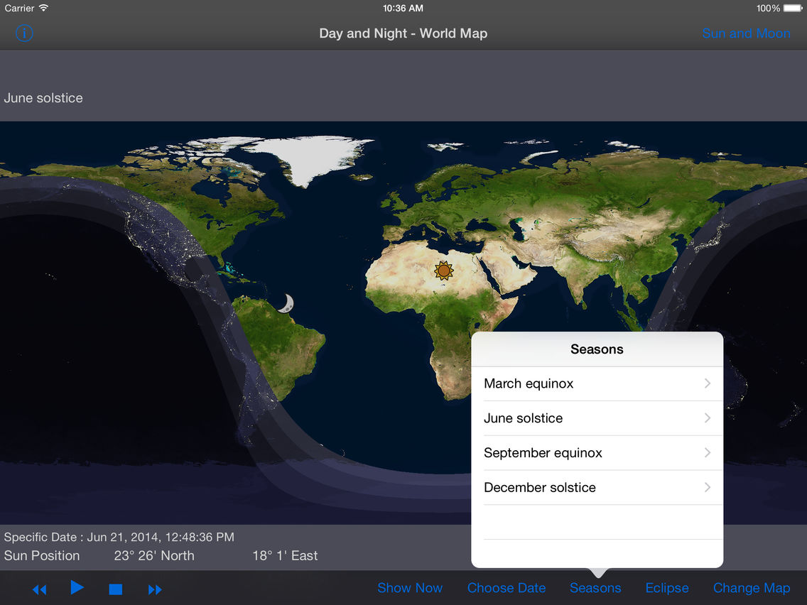 Day and Night - World Map HD App for iPhone - Free Download ...