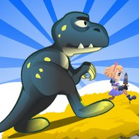 Dino World Adventure Dodge & Fight Game for Kids