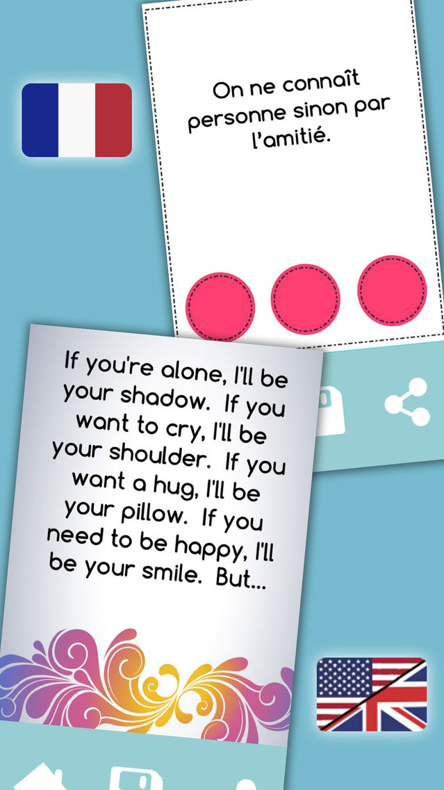 Friendship quotes – Messages for best friends App for iPhone ...